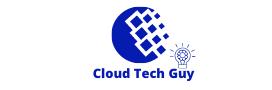 cloud tech guy logo